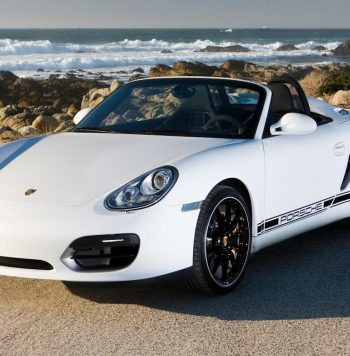 Porsche Boxster huren wit