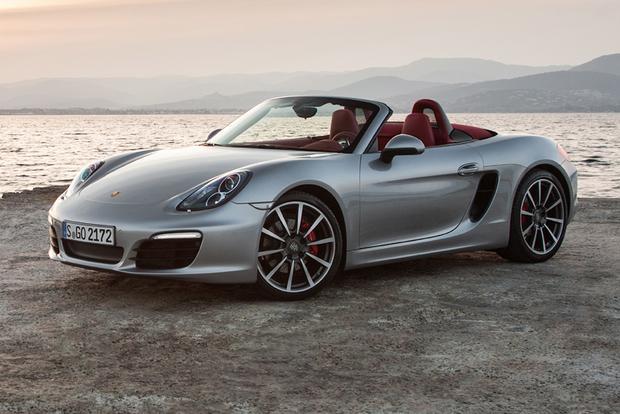 Porsche Boxster cabrio huren