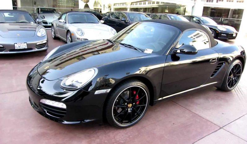 Porsche Boxster huren zwart